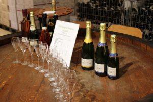 champagne testing